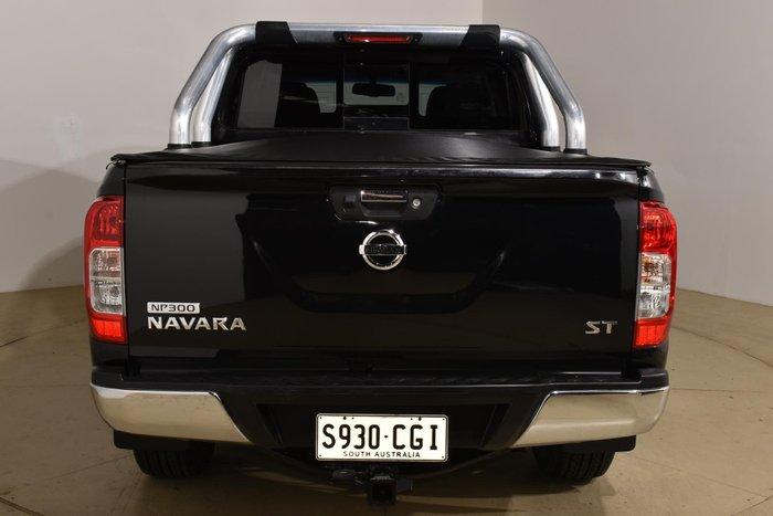 2015 Nissan Navara ST D23 4X4 Dual Range Cosmic Black