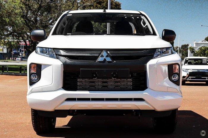 2021 Mitsubishi Triton GLX ADAS MR MY21 4X4 Dual Range White