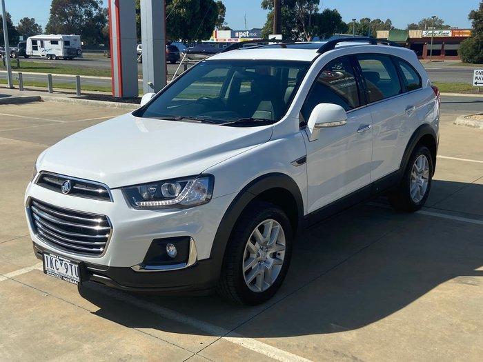 2016 Holden Captiva Active CG MY17 White