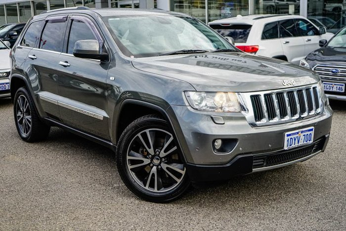 2012 Jeep Grand Cherokee Limited WK MY12 4X4 Constant Mineral Grey
