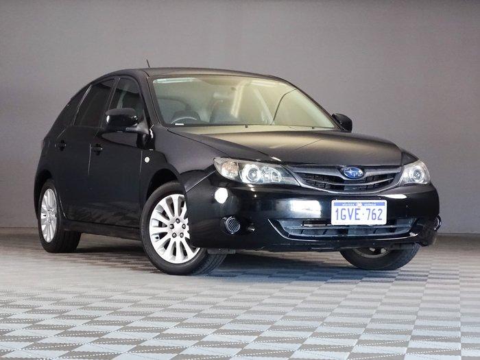 2011 Subaru Impreza R G3 MY11 AWD Black