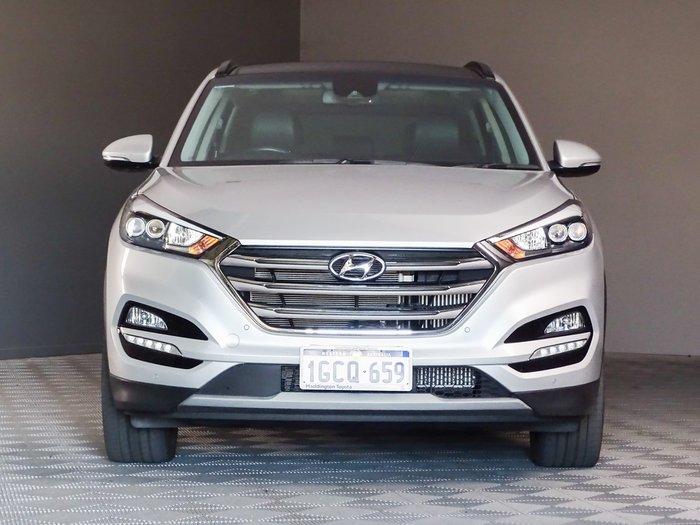 2016 Hyundai Tucson Highlander TLe MY17 AWD Silver