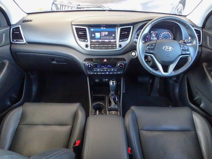 2016 Hyundai Tucson Highlander TLe AWD Platinum Silver