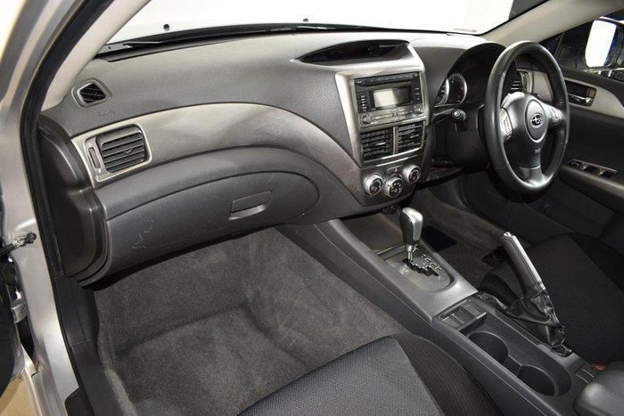 2008 Subaru Impreza RS G3 MY08 AWD Silver
