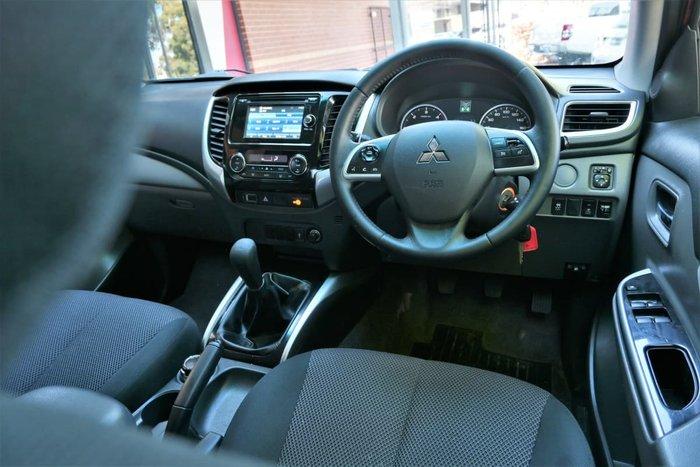 2016 Mitsubishi Triton GLS MQ MY16 4X4 Dual Range Red