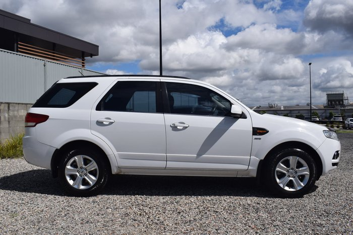 2011 Ford Territory TX SZ AWD Winter White