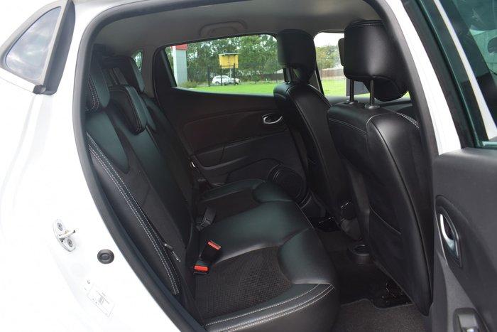 2017 Renault Clio Intens IV B98 Phase 2 White