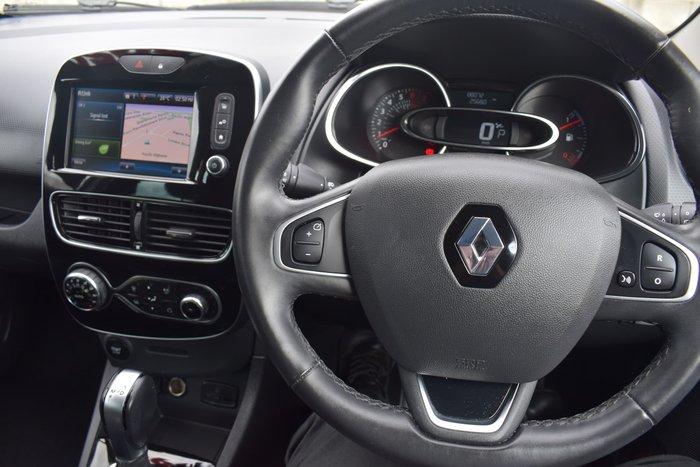 2017 Renault Clio Intens IV B98 Phase 2 Glacier White