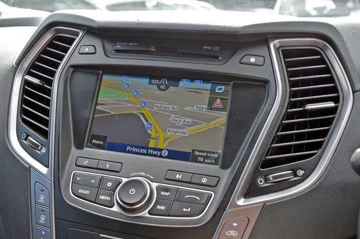 2013 Hyundai Santa Fe Highlander DM MY13 4X4 On Demand Phantom Black