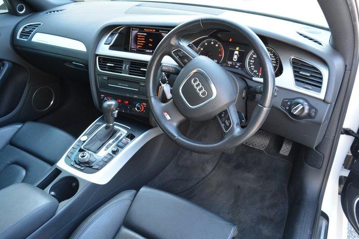 2012 Audi A4 B8 MY12 Four Wheel Drive Ibis White