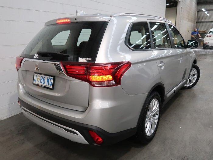 2020 Mitsubishi Outlander ES ZL MY21 AWD Silver