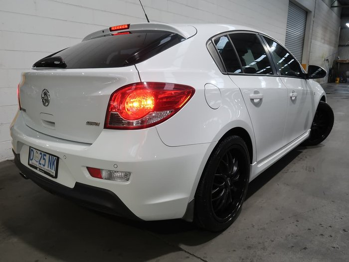 2013 Holden Cruze SRi JH Series II MY14 White