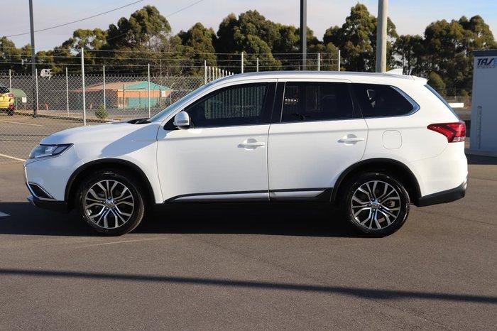 2016 Mitsubishi Outlander LS ZK MY17 4X4 On Demand White