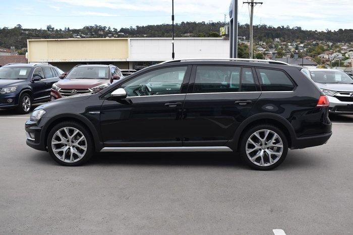 2016 Volkswagen Golf Alltrack 132TSI 7 MY16 Four Wheel Drive Black