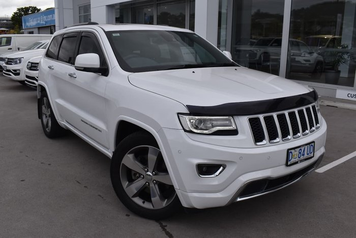 2013 Jeep Grand Cherokee Overland WK MY13 4X4 Constant White
