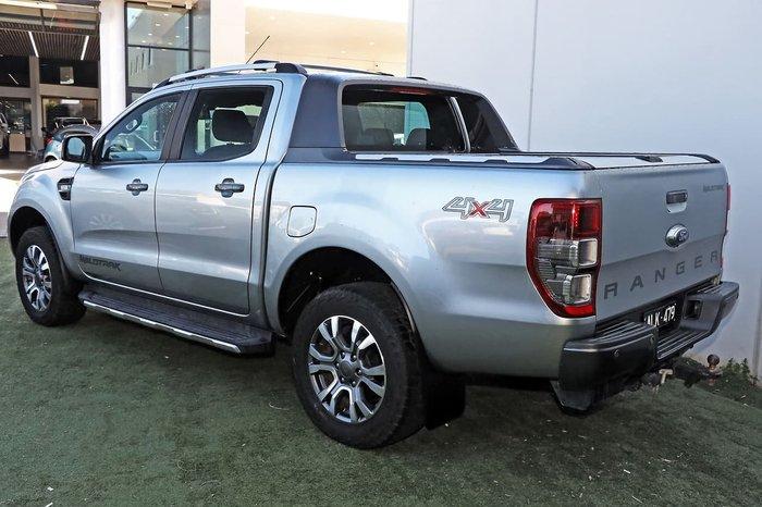 2016 Ford Ranger Wildtrak PX MkII 4X4 Dual Range Silver