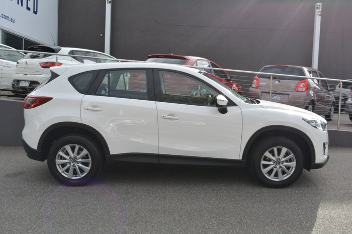 2016 Mazda CX-5 Maxx Sport KE Series 2 Crystal White Pearl