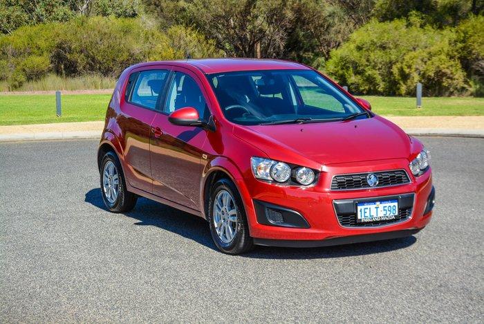 2014 Holden Barina CD TM MY14 Velvet Red