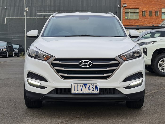 2016 Hyundai Tucson Active TL MY17 White