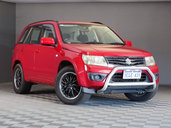 2012 Suzuki Grand Vitara Urban Navigator JB MY13 Red