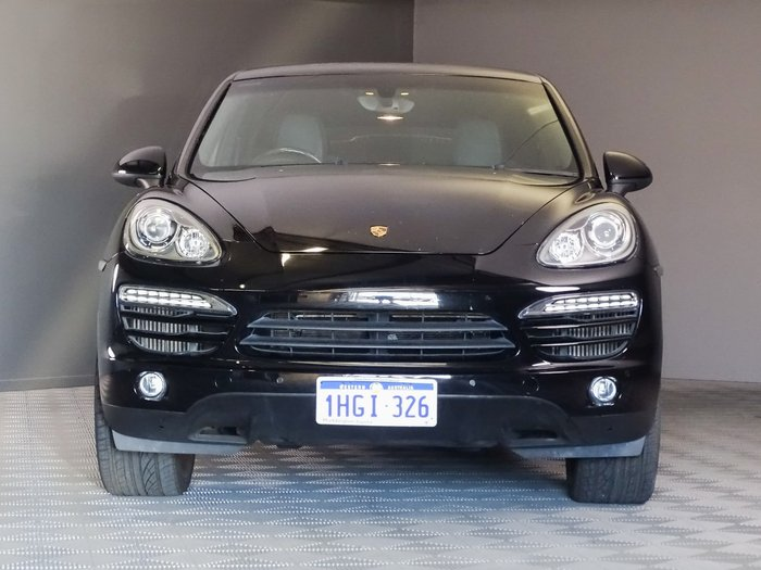 2014 Porsche Cayenne Diesel 92A MY14 4X4 On Demand Black
