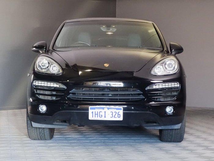 2014 Porsche Cayenne Diesel 92A MY14 4X4 On Demand Black