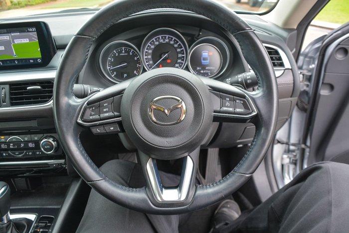 2017 Mazda 6 Touring GL Series Sonic Silver