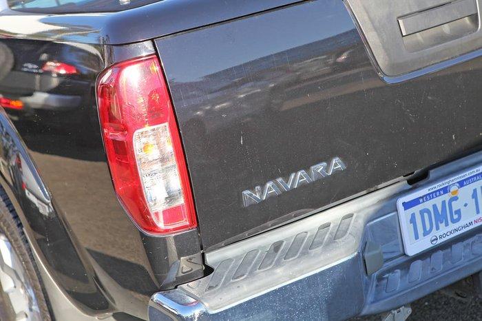 2010 Nissan Navara ST D40 4X4 Black