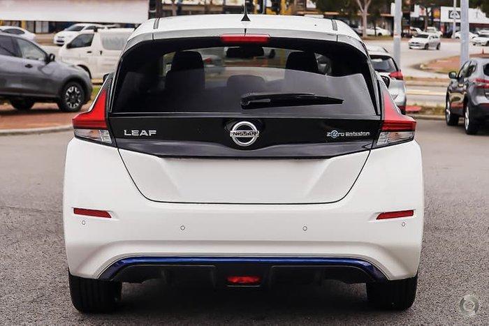 2020 Nissan LEAF ZE1 Artic White