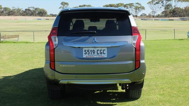 2018 MITSUBISHI Pajero Sport Exceed QE MY18 Exceed Wagon 7st 5dr Spts Auto 8sp 4x4 2.4DT Titanium