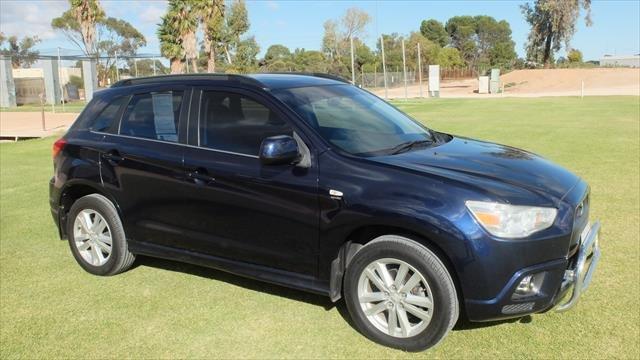 2012 MITSUBISHI ASX SUV Platinum XA MY12 Platinum Wagon 5dr CVT 6sp 2WD 2.0i BLUE