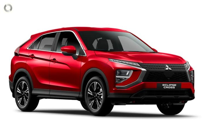 2021 Mitsubishi Eclipse Cross ES YB MY21 Red Diamond