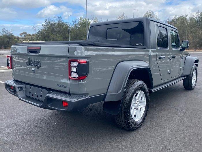 2020 Jeep Gladiator Sport S JT MY21 4X4 On Demand Grey