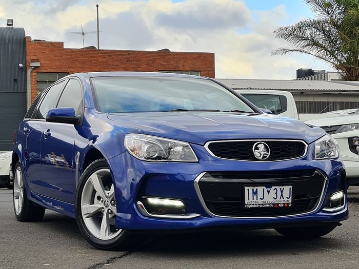 2016 Holden Commodore SV6 VF Series II MY16 Blue