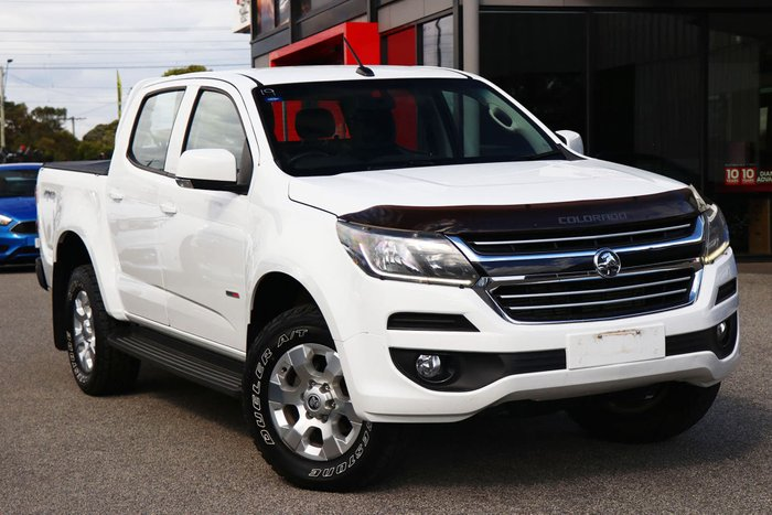 2018 Holden Colorado LT RG MY18 4X4 Dual Range Summit White