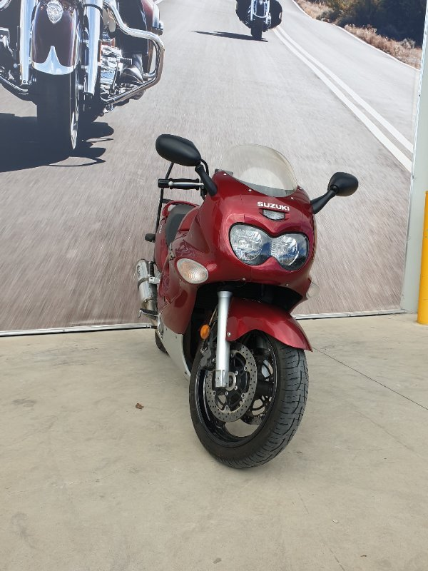 2006 Suzuki GSX750F Red