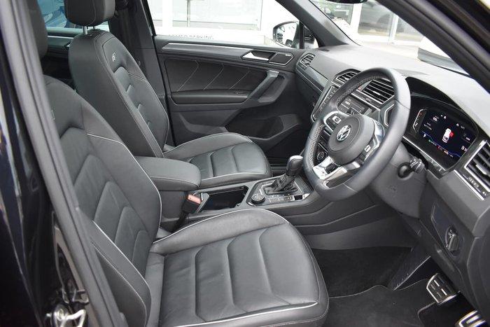 2020 Volkswagen Tiguan 162TSI Highline 5N MY20 Four Wheel Drive Black