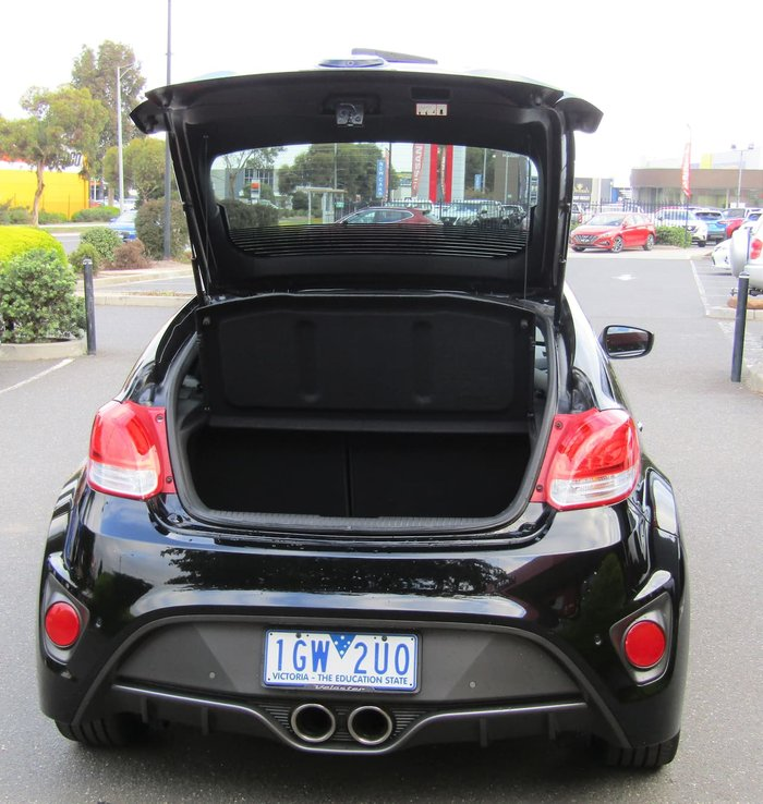 2016 Hyundai Veloster FS4 Series II Black
