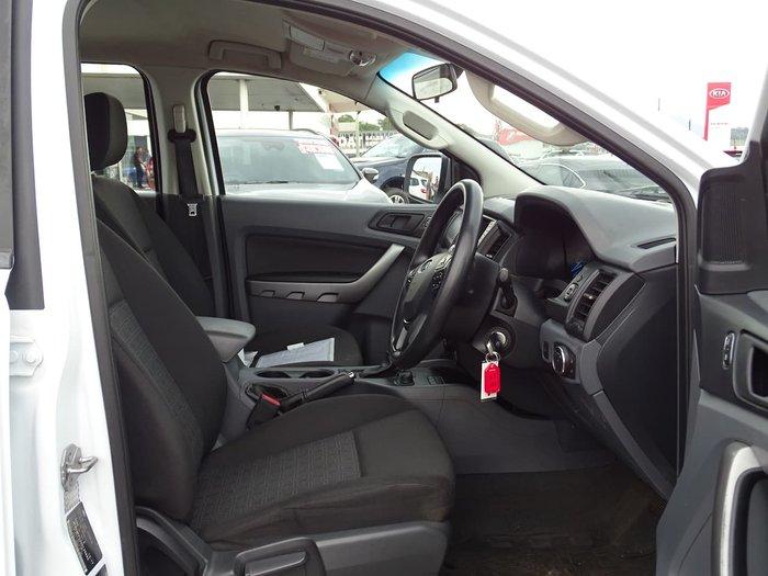 2017 Ford Ranger XLS PX MkII MY18 4X4 Dual Range White