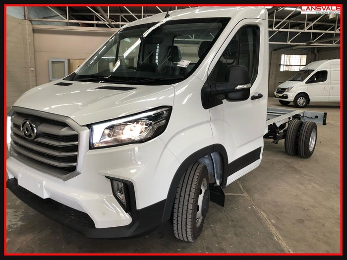 2021 LDV Deliver 9 Cab Chassis Cab Chassis BLANC WHITE
