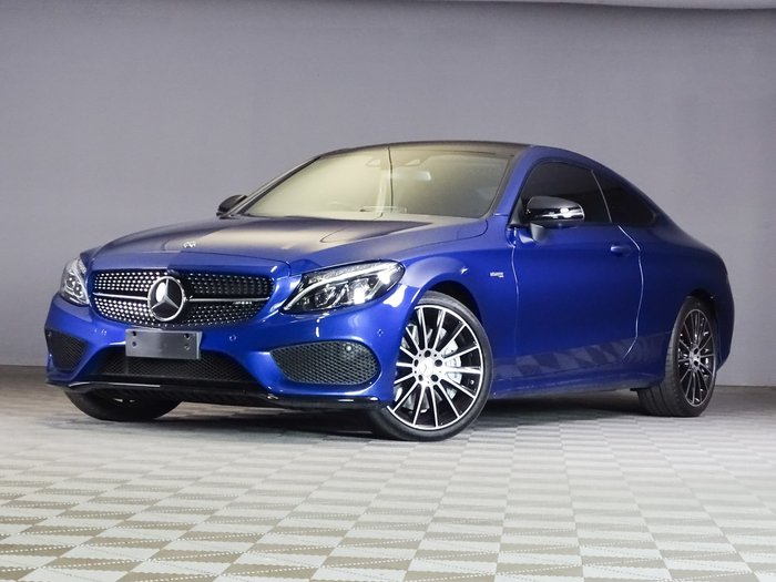 2018 Mercedes-Benz C-Class C43 AMG C205 Four Wheel Drive Blue