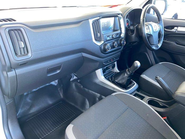 2017 Holden Colorado LS RG MY17 Summit White