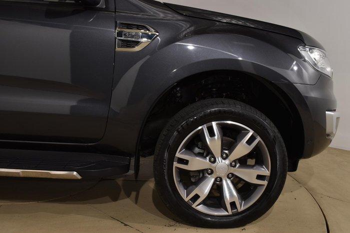 2017 Ford Everest Titanium UA MY18 4X4 Dual Range Meteor Grey