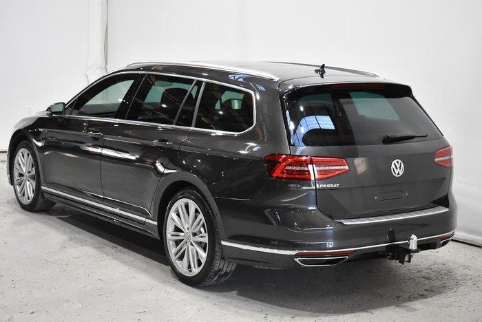 2019 Volkswagen Passat 206TSI R-Line B8 MY19 Four Wheel Drive Manganese Grey