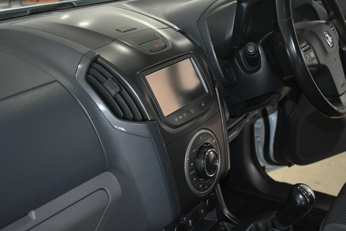 2014 Holden Colorado LTZ RG MY14 4X4 Dual Range White