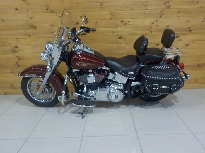 2008 Harley-davidson FLSTC HERITAGE SOFTAIL CLASSIC BERGUNDY