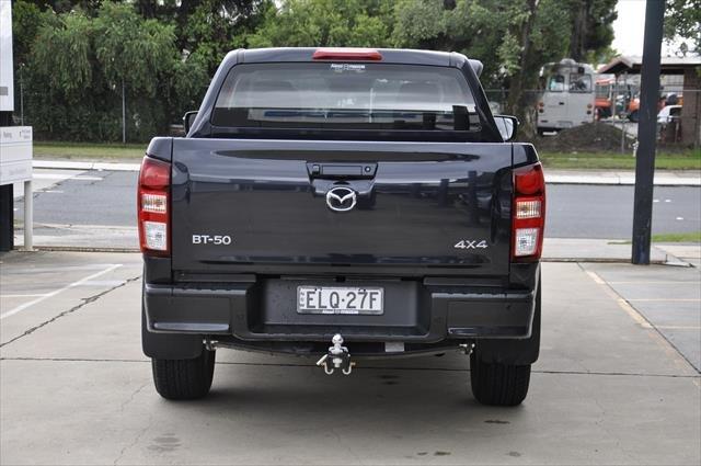 2020 MAZDA BT-50 XT TFS40J XT Utility Dual Cab 4dr Man 6sp 4x4 1095kg 3.0DT Gun Blue