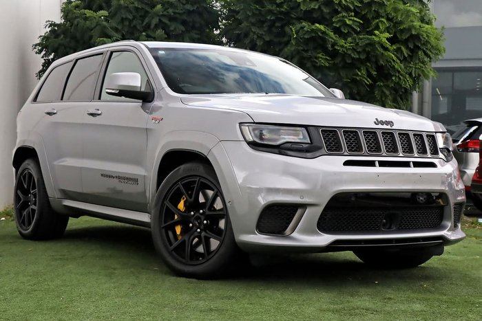 2018 Jeep Grand Cherokee Trackhawk WK MY18 4X4 On Demand Silver