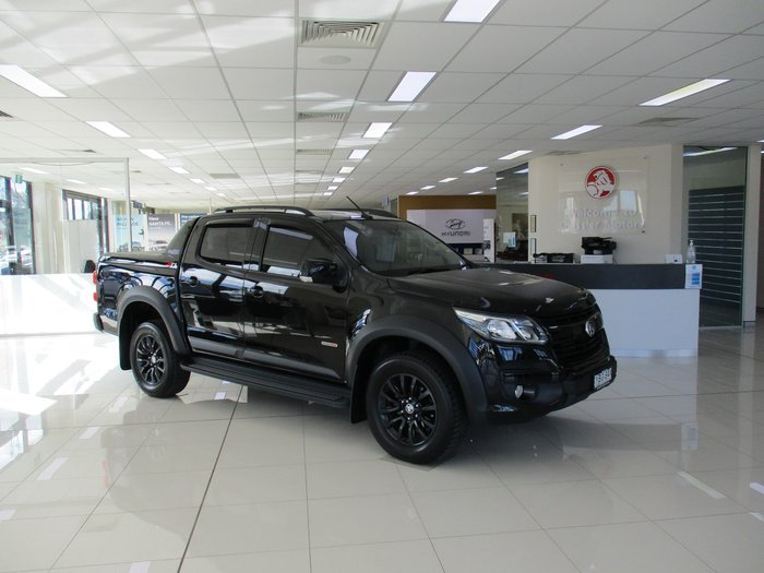 2019 Holden Colorado Z71 RG MY20 4X4 Dual Range Mineral Black