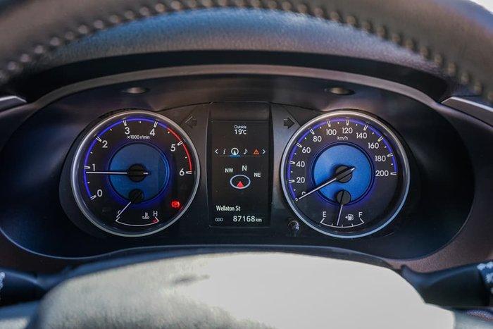 2017 Toyota Hilux SR5 GUN126R 4X4 Dual Range Nebula Blue